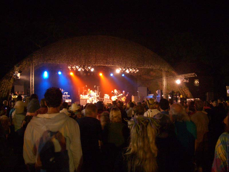 Twinwood Rhythm Festival by night