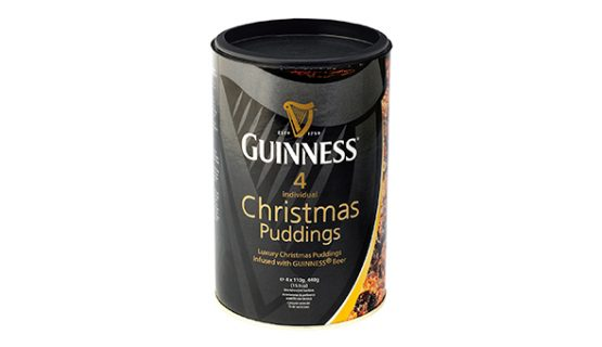 Guinness Christmas Puddings PR