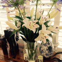 interior design flowers